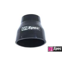 Szilikon szűkító D1Spec Fekete 51-70mm